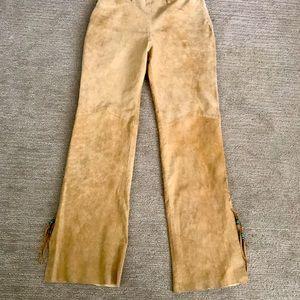 Vintage suede pants
